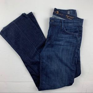 Seven 7 For All Mankind High Waist Bootcut Jeans